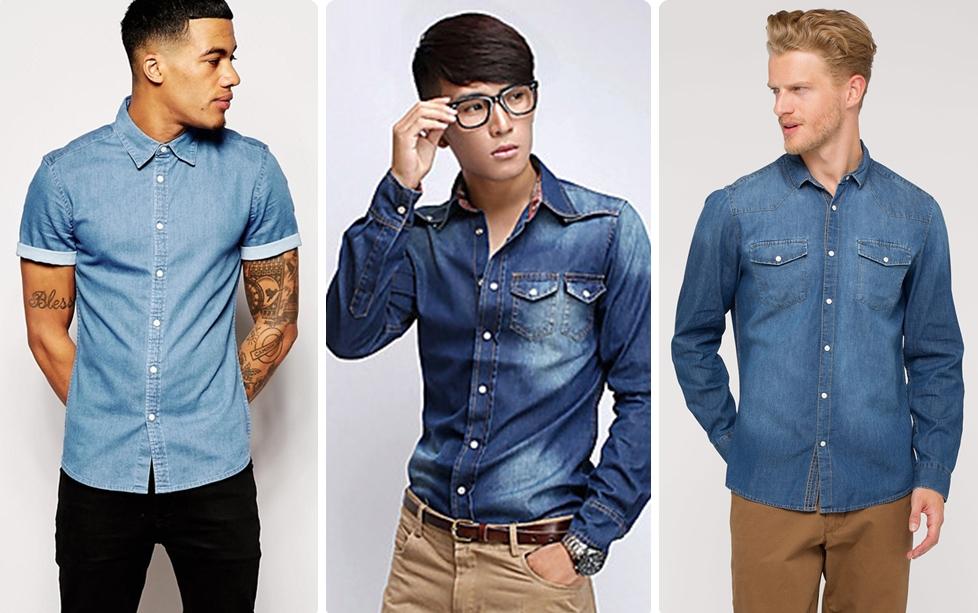 La camisa vaquera es tendencia c mo combinarla for Combinar camisa vaquera negra hombre