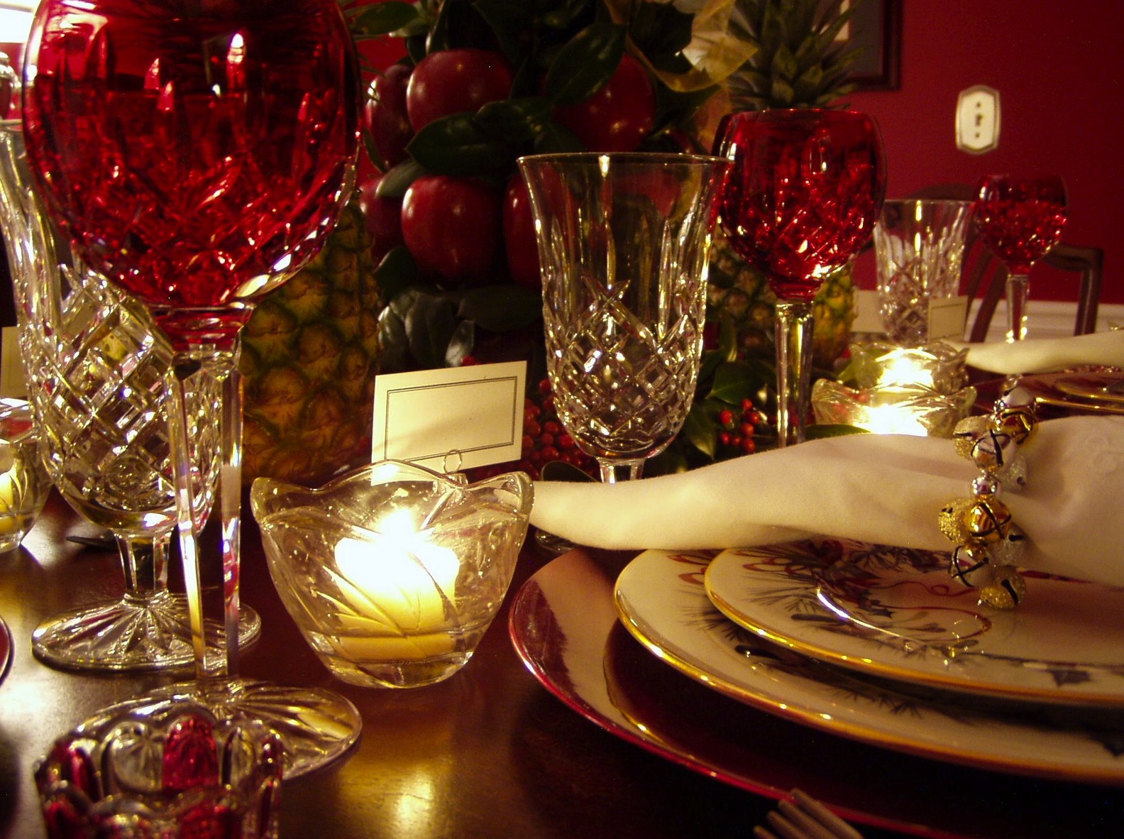 Ideas para decorar nuestra mesa de navidad - Ideas para decorar la mesa de navidad ...