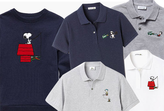 Snoopy Polo peanuts Lacoste And Snoopy X Collection vqOw454Fx