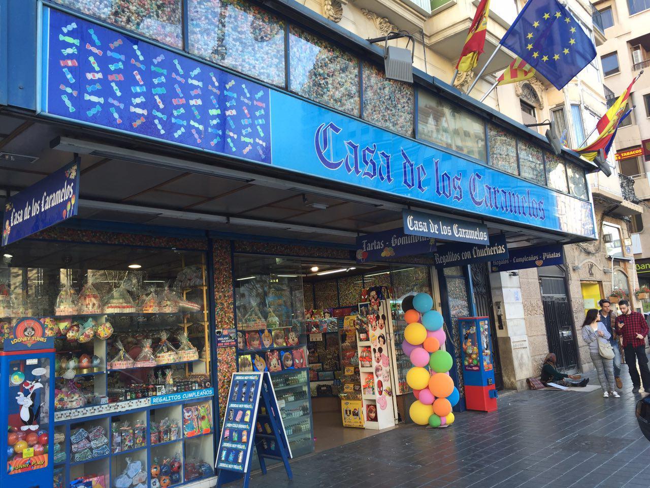 La casa de los caramelos vuelve a su emplazamiento original - Casa de los caramelos valencia ...