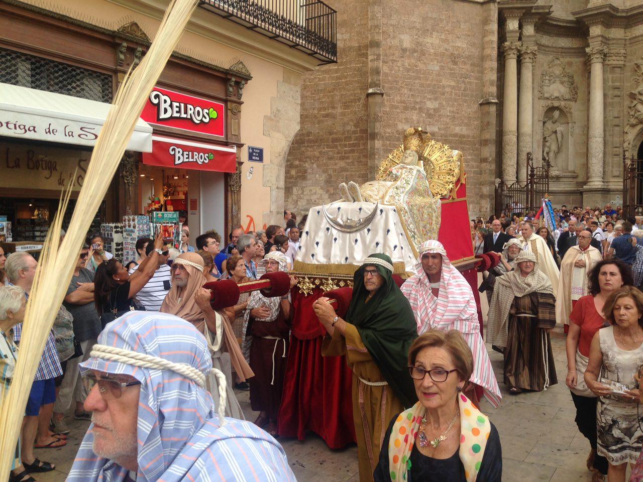 El Grup de Mecha procesionará con la Asunción de Nuestra Señora