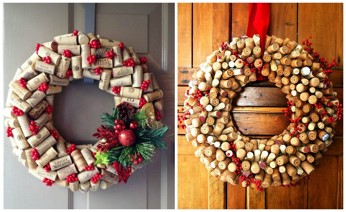 Recicla tu casa para lograr la mejor decoraci n de navidad - Decoraciones para navidad ...