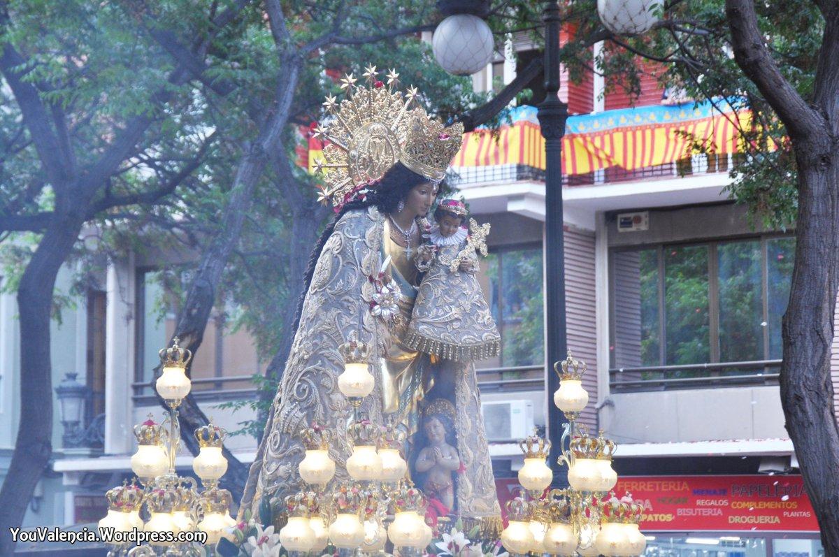 La Virgen de los Desamparados viaja hasta Madrid por primera vez