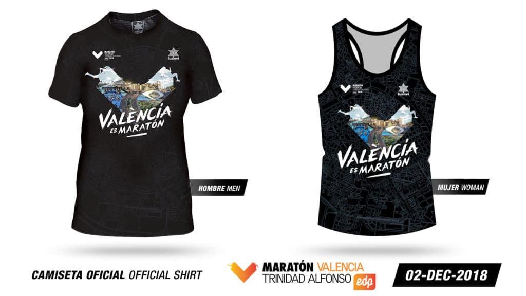 La camiseta valenciana que todo deportista quiere poder tener