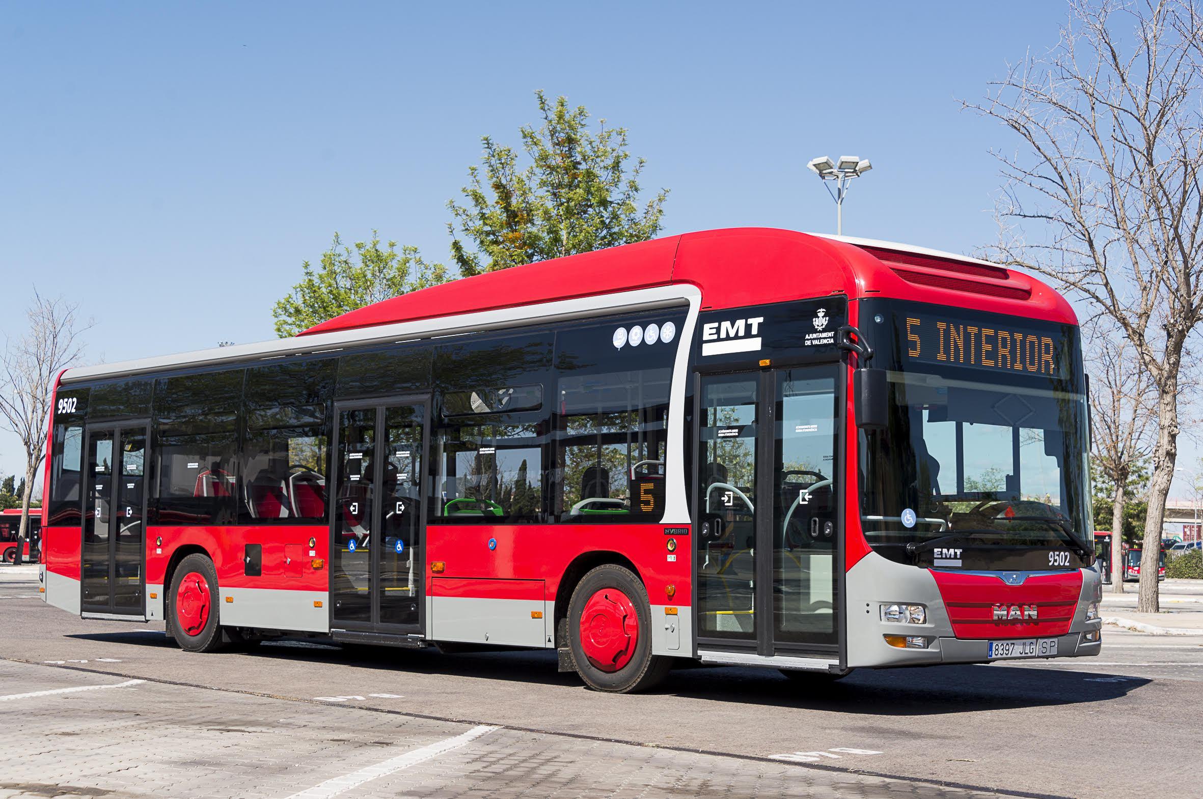 EMT Valencia ofrecerá todos los viajes gratis este 22 de septiembre