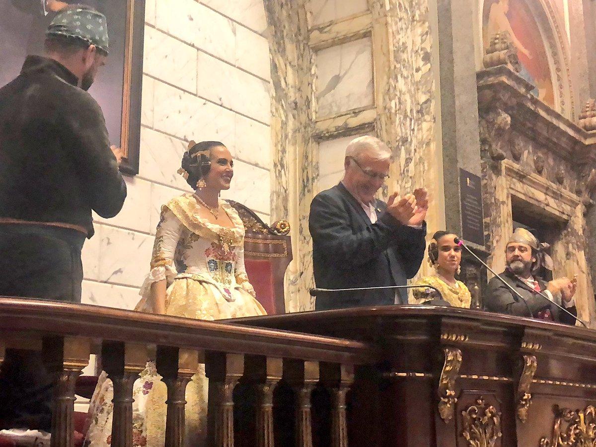 Así ha sido la Proclamación de las Falleras Mayores de Valencia 2019