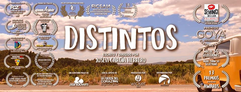 El cortometraje valenciano Distintos premiado por su mensaje social