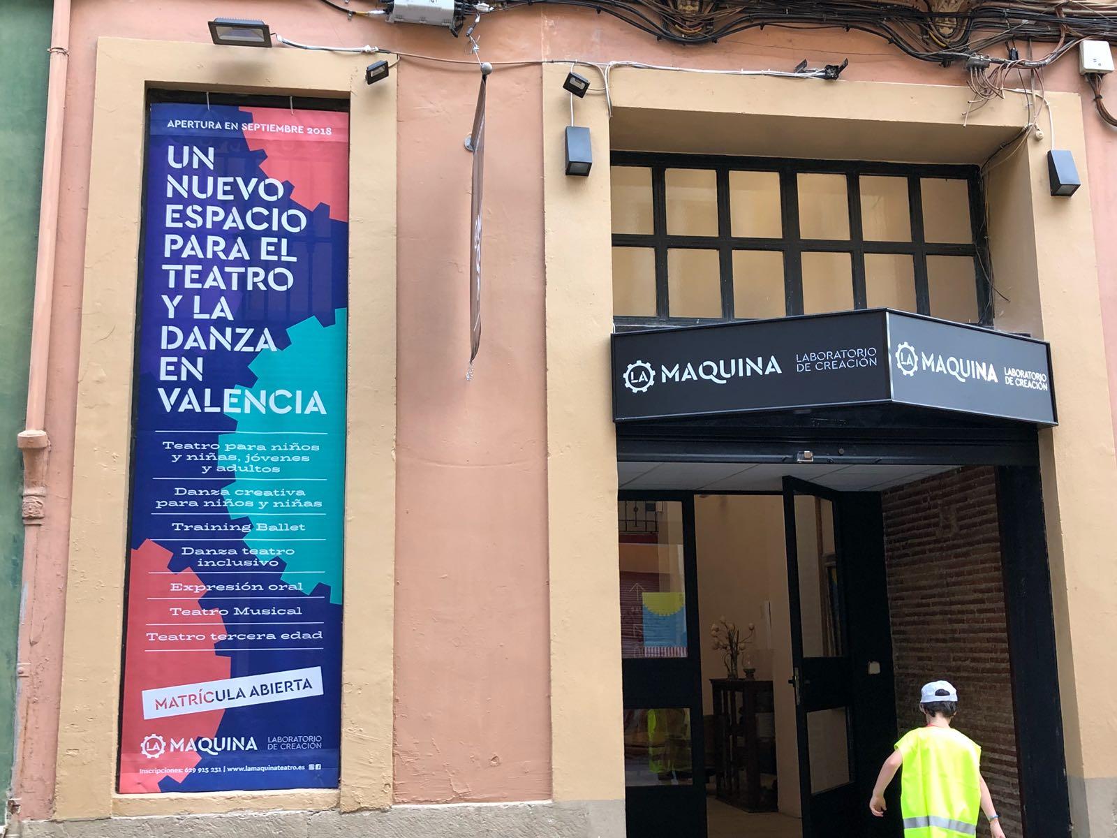Valencia cuenta con un nuevo laboratorio teatral en la sala La Maquina