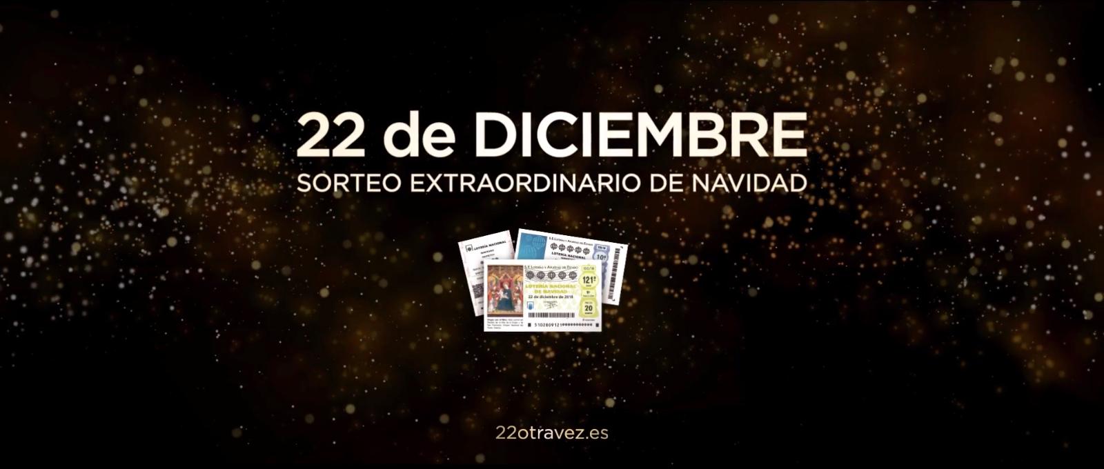Ya está aquí el anuncio del sorteo de la Lotería de Navidad