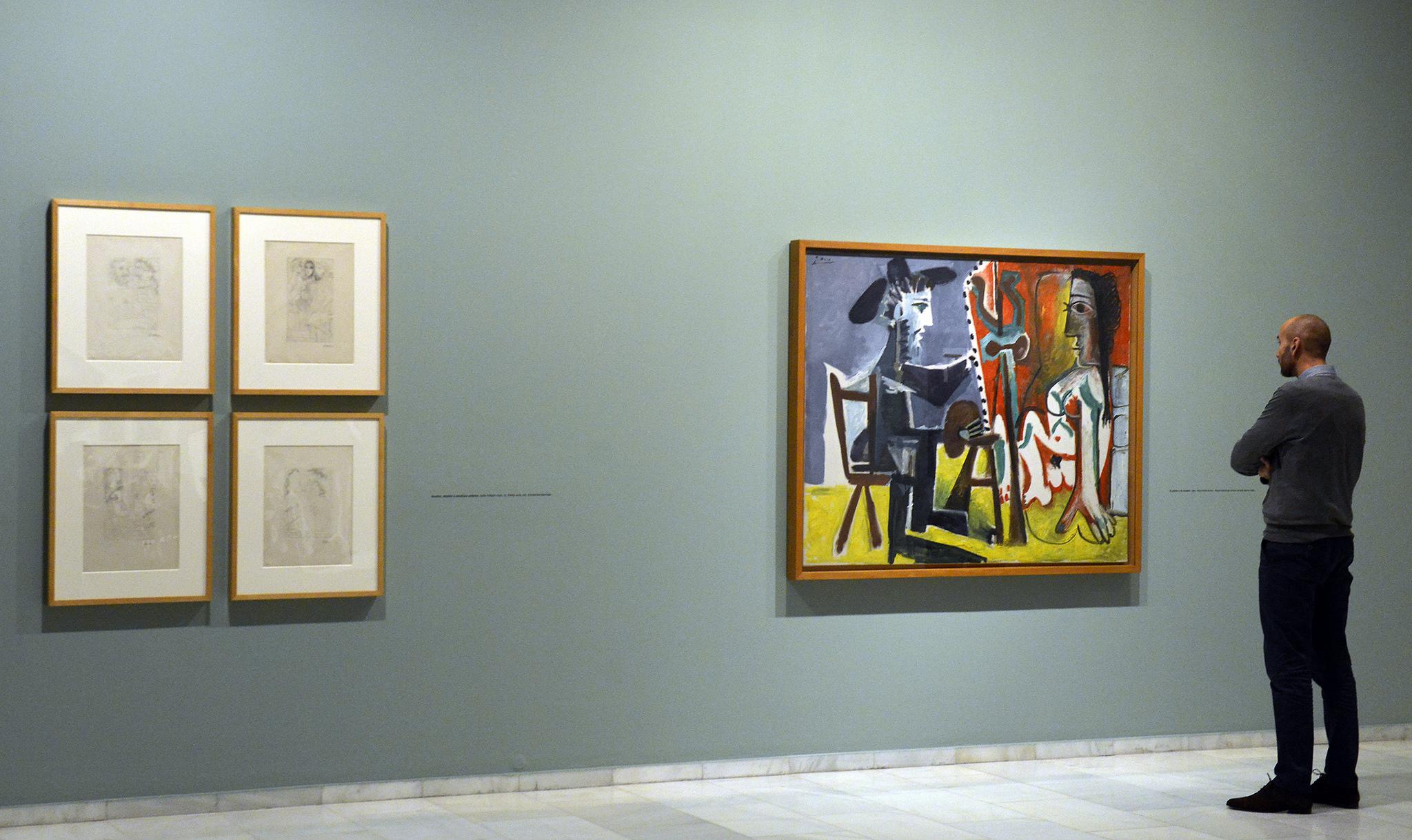 Doble exposición de Picasso en la Fundación Bancaja