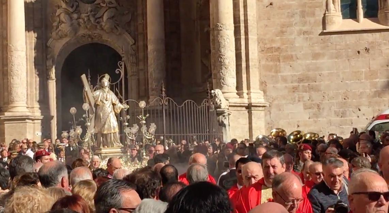 Fiesta de San Vicente Mártir como patrón de la ciudad de Valencia