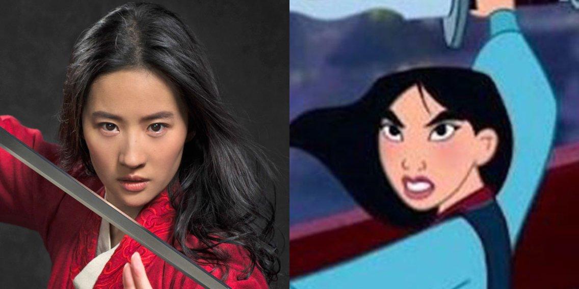 Disney presenta nuevas imágenes de la guerrera china Mulán
