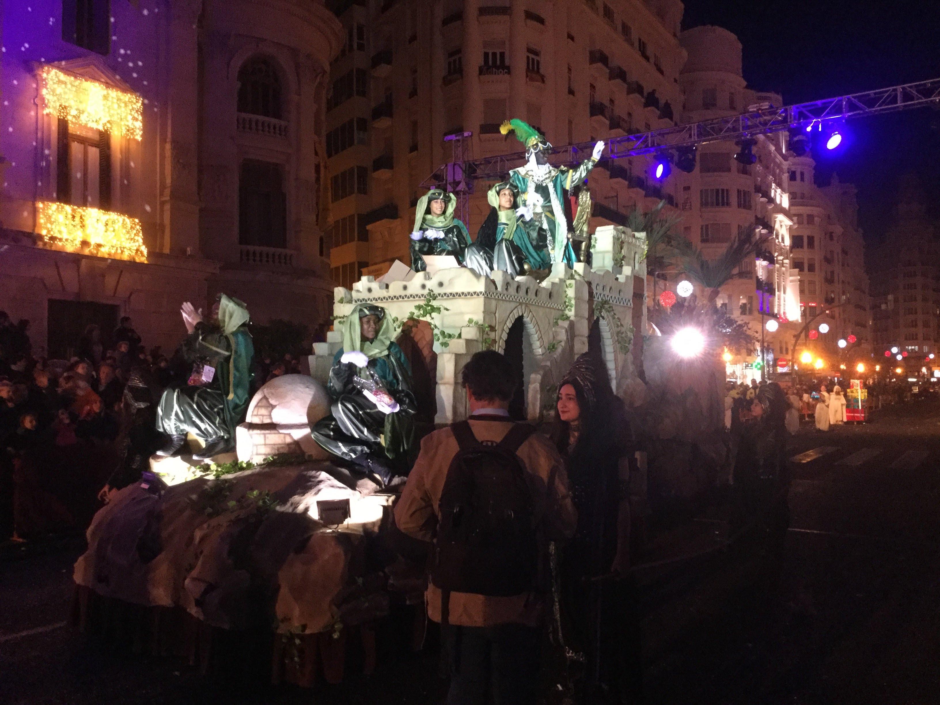 Detalles y horarios de la Cabalgata de Reyes de Valencia 2020