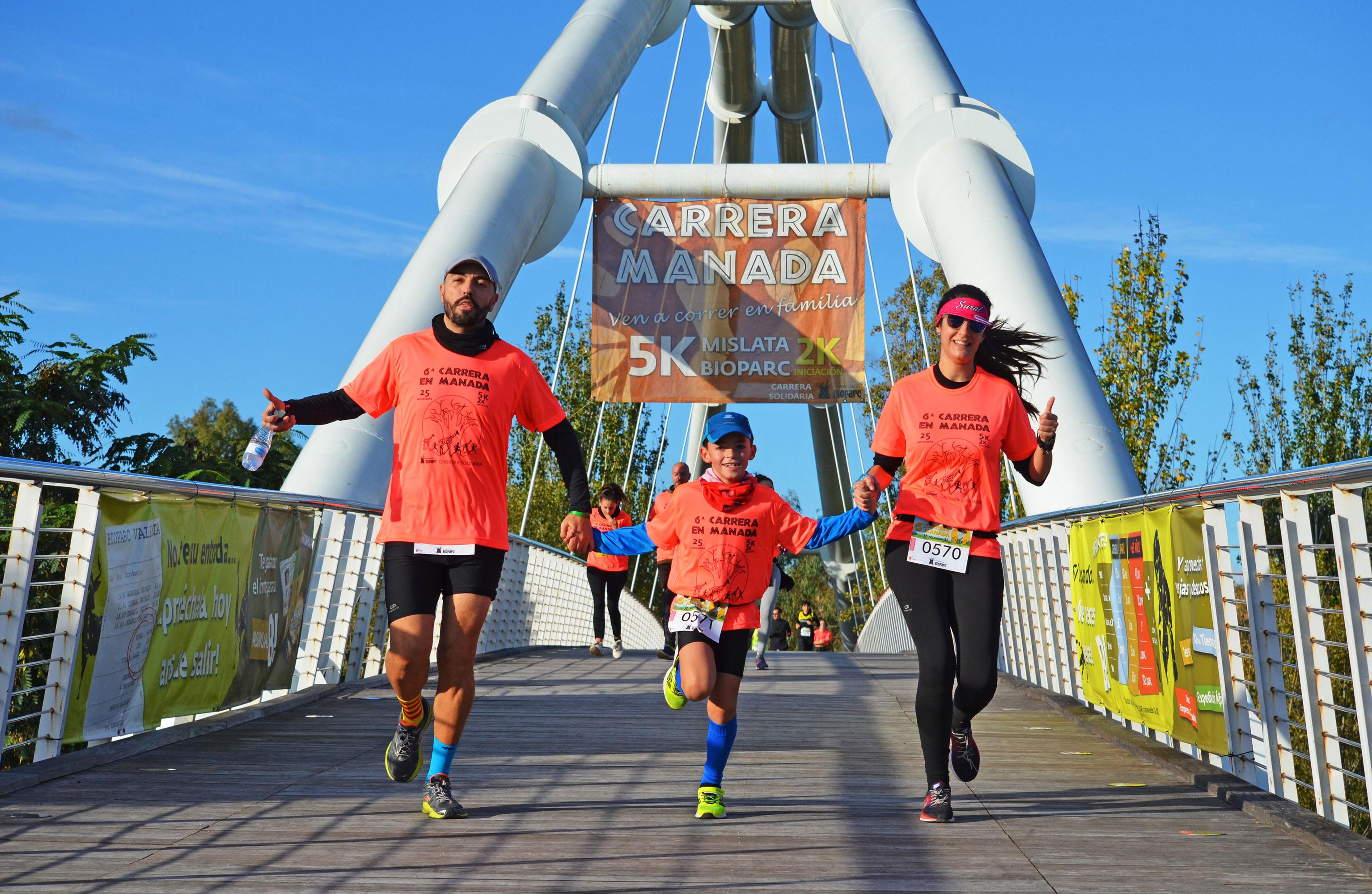 Bioparc celebra su 7ª Carrera en Manada para terminar noviembre