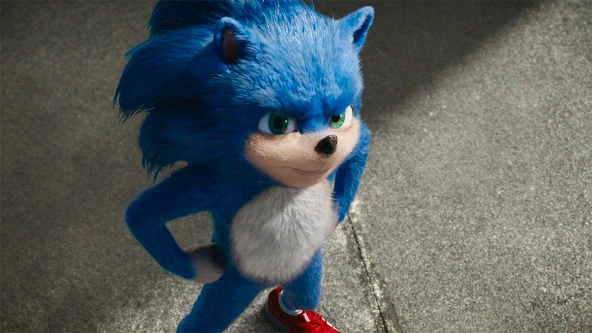 Así luce el nuevo Sonic para su primera película de cine