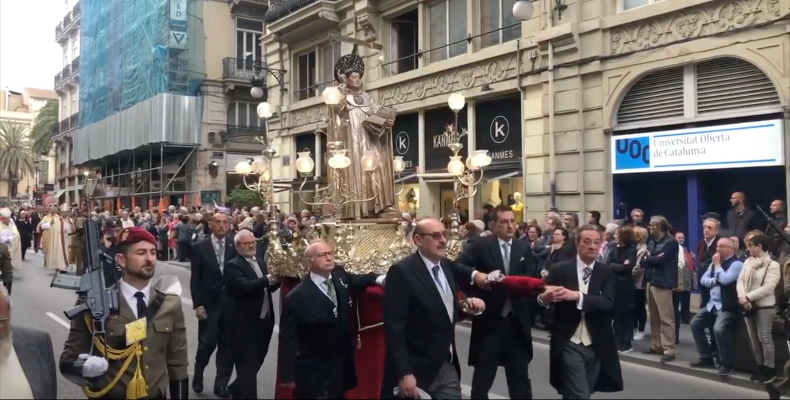 Sant Vicent Ferrer celebra este año su fiesta desde casa